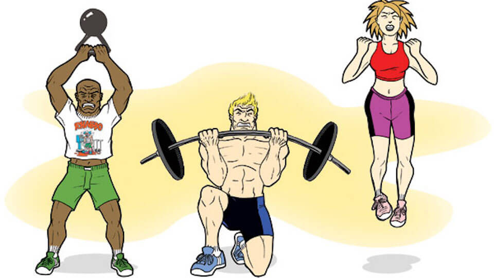 Crossfit pilates yoga renew physical therapy - Fitness cartoon pics ...